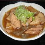 豊 - 人気の「モツ煮」
