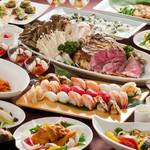 ダイニングルーム コスモス - 料理写真:夕食バイキング料理
