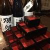 肉料理と地酒の店 居酒屋 新 - ドリンク写真:日本酒枡タワー