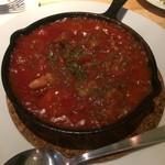 ティーエイト ステーキハウス - 牛筋のトマト煮込み