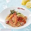 ジョリーパスタ - 料理写真:贅沢いくらと明太子の冷製カッペリーニ