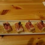 itari - 豆腐の生ハム包み