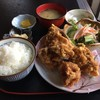 炎 - 料理写真:唐揚げ定食