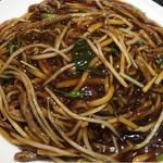 天慎飯店 - 牛肉炒麺