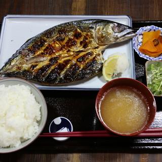 【お得な定食】昼・夜・土日究極の干物を定食で楽しめる!