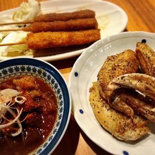 名古屋名物:手羽先・ひつまぶし・どて煮・味噌カツ・海老フライ