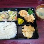 中華 信さん - 八宝菜ランチ500円