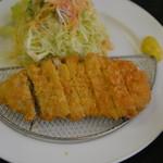 金立サービスエリア(上り線)レストラン - 料理写真:トンカツ