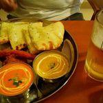 ケララキッチン - スペシャルディナーセット1500円ビール選択