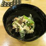 漁師寿司 海蓮丸 - 小松菜の白和え