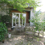 NANA CAFE - 素敵なお庭。