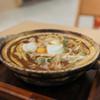 EXPASA御在所(下り線)「山本屋本店」 - 料理写真:親子入り味噌煮込うどん☆