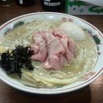 煮干し麺処 まる - 濃厚特製煮干し中華そば(1150円)