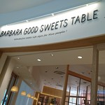 BARBARA GOOD SWEETS TABLE -