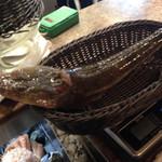 ボガマリ・クチーナ・マリナーラ - これが、コチというお魚です。