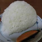 姫のそば ゆかり庵 - 天日干し米 おにぎり