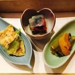 翔山亭  - 色鮮やかな冷菜です!
