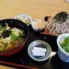 信州そば久保田 - 料理写真:親子丼と手打ちざるそばのセット・蕎麦屋の出汁が美味しいよ♪ざるそばの量もめちゃあるがね♡