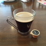 Trattoria & Pizza Banzo - 食後はTanaCafeさんのホットコーヒーを。