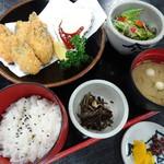 焼がきの はやし - 特選かきフライ定食(1,680円)