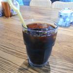 肉が旨いカフェ NICK STOCK - アイスコーヒー♡