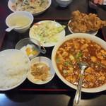 67629593 - 麻婆豆腐定食880円