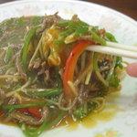 仙台屋食堂 - 麺はこんな感じです