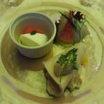 ベンベヌート - 前菜の盛り合わせ