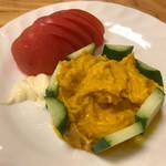 串揚げ 深澤亭 - かぼちゃサラダ