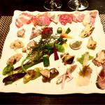 ロッシ - 料理写真:前菜盛り合わせ