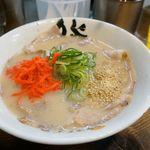 博多ラーメン 膳 - デフォルトの美味しいラーメンは280円です。 でも今回は、というか、いつも頼むチャーシューメン480円。