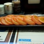炭焼き牛タン&やきとり KITETSU - 冷やしトマト