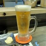 炭焼き牛タン&やきとり KITETSU - 生ビール