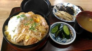 文尾食堂 - カツ丼700