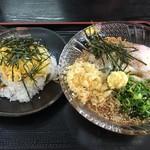香川製麺てまり - ちらし寿司と冷しぶっかけ