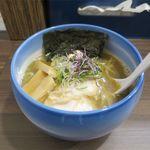 麺や 玄鳥 - あっさり煮干し中華そば塩(800円)