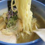 麺や 玄鳥 - あっさり煮干し中華そば塩の麺