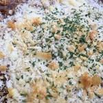 アインシュタインカフェ + ザッカ - こっそり卵ととろ~りチーズの焼きカレー