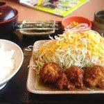 どんじゅう - サービスランチA(鶏煮込み) 490円