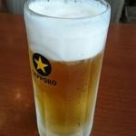 グッドフレンド タイ・インド料理 - 生ビール。