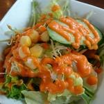 グッドフレンド タイ・インド料理 - サラダ。