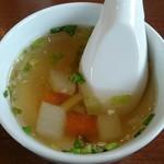 グッドフレンド タイ・インド料理 - スープ。