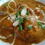 グッドフレンド タイ・インド料理 - 野菜カレー(中辛)