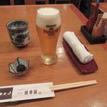 67641794 - 生ビール・お通し