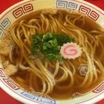 カドヤ食堂 - 定食(980円)の魚介かけそば