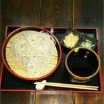 喰亭 壱 - 盛そば 950円