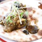 サベラ ティッカ ビリヤニ - ラムの骨付き肉