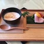 金田中 草 - 豆乳&湯葉、鴨