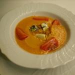 リストランテ・マッサ - スーパーフルーツトマトのスープ