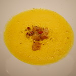67644371 - 季節野菜のスープ 熟成かぼちゃ